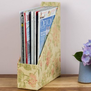 Magazine Holder - Antique Gold