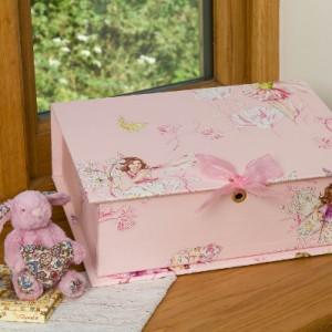 Treasure Box Midi (A4) - Flower Fairies Pink