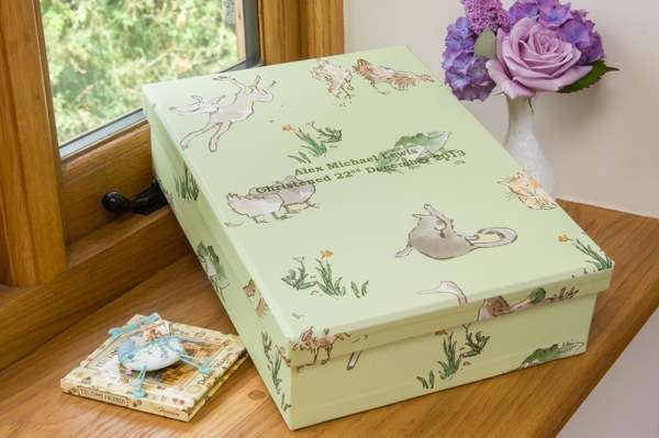 Keepsake Box - Menagerie Green