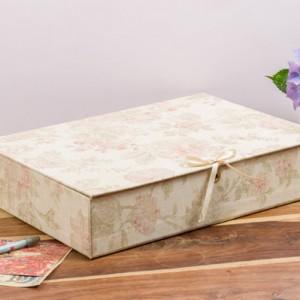 Box File (A4) - Antique Pink