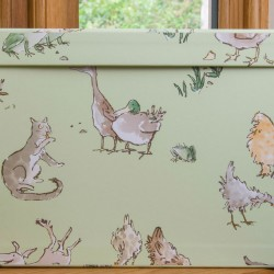 Toy Box (Small) - Menagerie Green