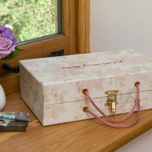 Handbag Box - Antique Pink