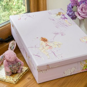 Keepsake Box - Flower Fairies Lilac