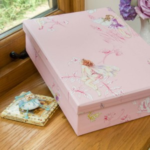 Keepsake Box - Flower Fairies Pink