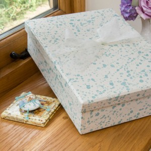 Keepsake Box - Splash Aqua