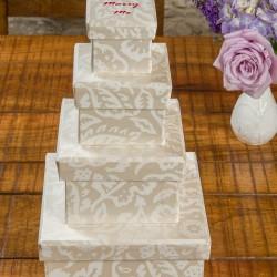 Gift Box Set - Floral Damask Pearl