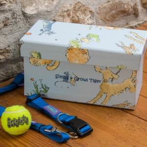 Pet Accessory Box - Menagerie Sky