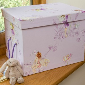 Toy Box (Small) - Flower Fairies Lilac