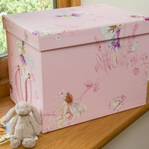 Toy Box (Small) - Flower Fairies Pink