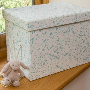 Toy Box (Small) - Splash Aqua