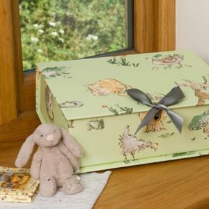 Treasure Box Midi (A4) - Menagerie Green