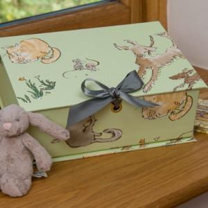 Treasure Box Small (A5) - Menagerie Green