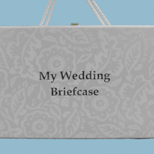 Bride's Briefcase - Bride's Desk Set