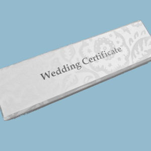Wedding Certificate Box - Bride's Desk Set