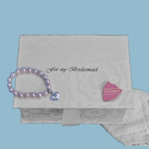 "Bridesmaid's Filled ""With Love"" Box"
