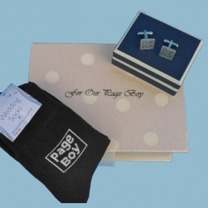 "Page Boy's Filled ""With Love"" Box"