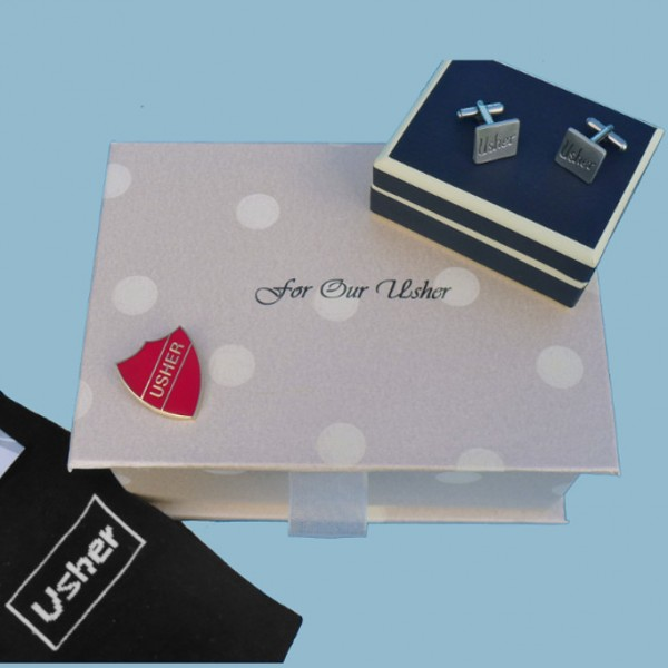 """Usher's Filled """"With Love"""" Box"""