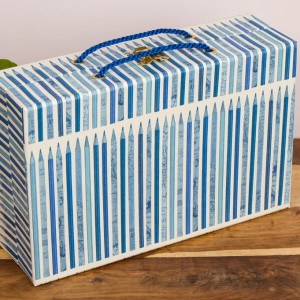 Handbag Box - Scribbler Blue