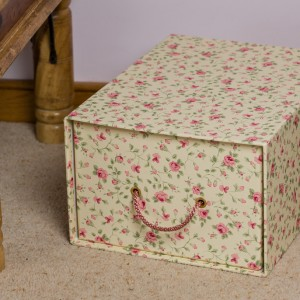 Storage Drawer - Rosebud